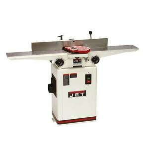 Jet 6 Deluxe Jointer With Qs Knives 708457dxk Free Shipping