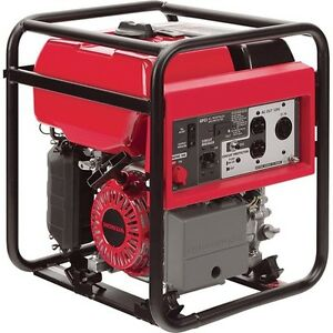 Portable Honda Generator Gas 3000 Watt 2 7 Gal 120v Carb Commercial