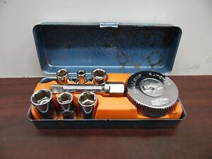 Vintage Mitsutomo Fingertip Ratchet Box Set 5b
