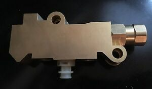 New Chevy Disc Drum Brake Brass Gm Proportioning Valve Classic Street Hot Rod