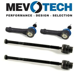 For Impala Monte Carlo Grand Prix Front Outer Inner Tie Rod Ends Kit Mevotech