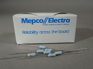 Mixed Lot Of 860 Mepco Electra Resistors 20 Kohms 24 9 Kohm 1 8w