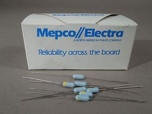 Mixed Lot Of 900 Mepco Electra Resistors 5 11 Kohm 511 Ohm 100ohm 1 8w