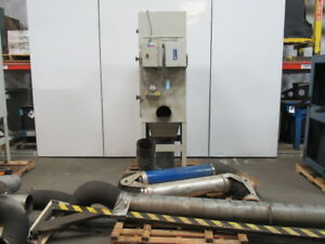 Airflow Systems 3 Hp Dust pak Weld Fume Dust Collector System Complete 8 Intake