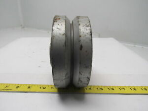 Albion Vg0640031 6 Cast Iron V Groove Caster Wheel W bearing 1 Id