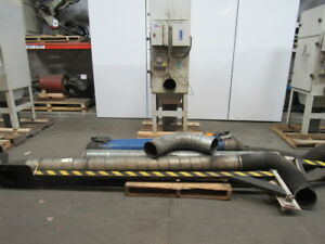 Airflow Systems Dust pak 3hp Weld Fume Dust Collector System Complete 8 Intake
