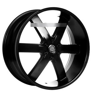 26 U2 Wheels 55 Black Rims
