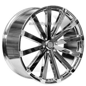 26 Velocity Wheels Vw12 Chrome Rims
