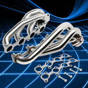 Stainless Racing Shorty Header Exhaust Manifold For 2011 2014 Ford F15