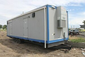 2010 Pacific Mobile Shower Trailer 36ft By 10ft 5 Showers With Tanks