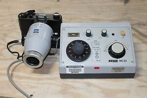 Carl Zeiss Mc 63 Camera Controller With Camera M35w Nice