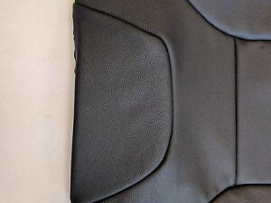 Volvo S60 V70 Front Black Leather Seat Cover Upholstery Code 9970 39819184