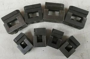 Lot Of 4 Double And 4 Single Tool Holders