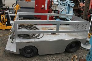 Taylor Mule Mantle Electric Heavy Duty Cart Capacity 17 000 Pounds