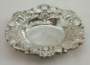 Candy Nut Dish Bowl Sterling Silver 925 54 Grams Excellent Pre Owned Cond