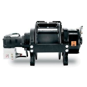 Hydraulic Winch 30 000 Lbs Air Clutch 2 Stage Standard Drum Commercial