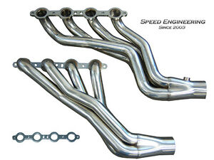 Speed Engineering Ls Swap Camaro Firebird Headers 82 92 Third Gen F body