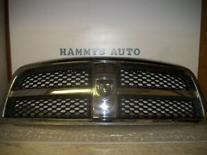 Dodge Ram Chrome Grille Grill 09 10 11 12 2009 2010 2011 2012 Used