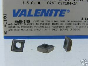 40 Valenite Cpgt 1 81 21 2a Vc101 Carbide Inserts O091s