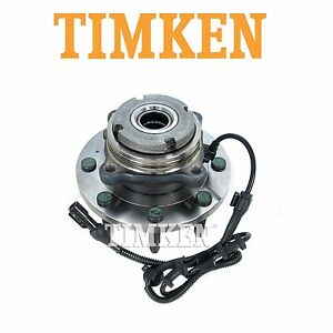 For Ford Excursion F 250 Super Duty 4wd Front Wheel Bearing Hub Assy Timken