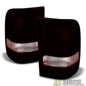 Red Smoke 1993 1997 Ford Ranger Tail Lights Lamps Aftermarket 93 97 Left right