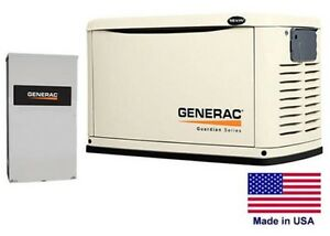 Standby Generator Residential 16 Kw Ng Lp Incl 200 Amp Transfer Switch