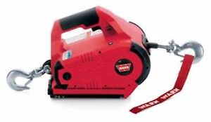 Warn 885005 Pullzall Hand Held Winch Hoist 1000 Lb 24 Volt Dc Cordless Portable