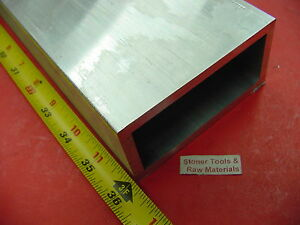 2 X 4 X 1 4 Wall Aluminum Rectangle Tube 6061 T6 X 36 Long 2 0 x 4 0 x 25