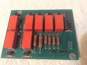Audio Precision Dua1 44479 56 Relay Board 6300 dua1 4