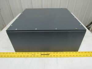 Wiegmann Wa 20208gsc 20x20x8 Electrical Enclosure Gasketed Screw Cover Box