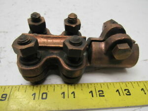 Bronze Electric Cable Clamp 1 0 4 0