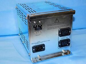 Pe Sciex Line Adj Xformer Api 3000 Lc ms ms P n 014179 Rev C Power Supply nib
