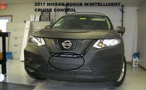 Lebra Front End Mask Cover Bra Fits 2017 2020 Nissan Rogue W intelligent Cruise
