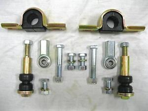 Mustang Ii 2 Front End Suspension Sway Bar Complete Linkage Kit Install Kit