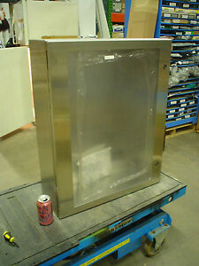 Hoffman Csd30248wss Stainless Enclosure W Large Window 60 Day Warranty