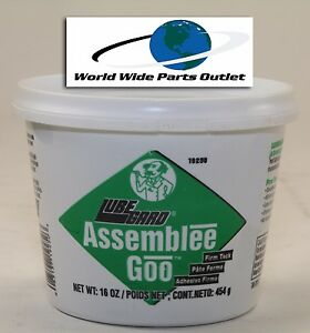 Transmission Assembly Lube Green Goo Lubegard Dr Tranny Assembly Grease Green