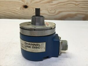 Dynamics Research Corp Channel Line Disc Drc Encoder 29l 11 d13 1000uu