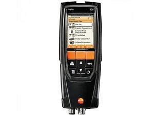 Testo 320 Flue Gas Combustion Analyzer Kit W printer 0563 3220 71