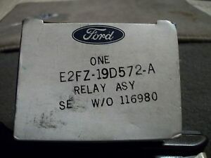 Nos 1982 1983 Ford Escort Exp Mercury Lynx Ln7 Air Conditioning Relay New