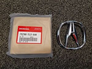 Fits Genuine Acura Tsx Ilx Front Grille a Chrome Emblem Badge 75700 tl2 a00