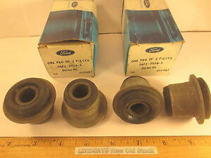 4 Pcs 1974 78 Mustang 1974 Up Pinto Bushing Front Suspension Upper Arm Shaft