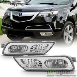 2007 2008 2009 Acura Mdx Fog Lights Bumper Driving Lamps Replacement Left Right