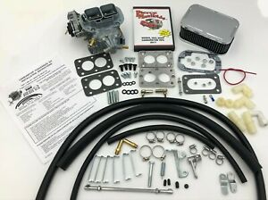 Jeep Cj Yj 6 Cyl 32 36 Dgev E choke Carburetor Conversion Free Dvd Wk551