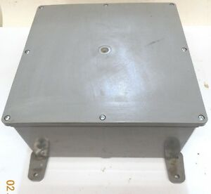Unknown Brand Electrical Enclosure E989r 12 5 16 x12 5 16 x6 3 8