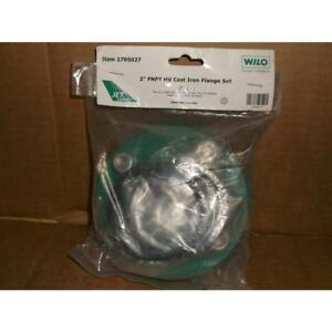 Wilo 2705027 2 Fnpt Hv Cast Iron Flange Set 183078