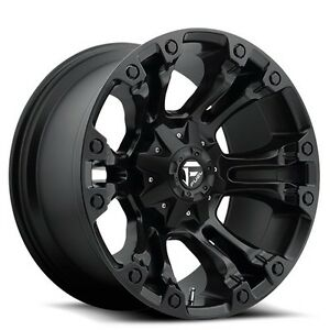 4rims Off Road 18 Fuel Wheels D560 Vapor Matte Black Rims