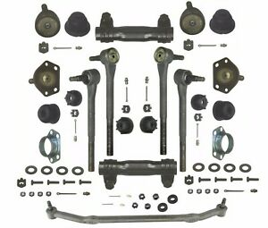 Front End Steering Rebuild Package Kit With Central Link Moog For Buick Chevy