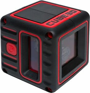Adirpro Cube 3d Cross Line Laser Level Home Red black