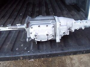 1961 61 Corvette Chevy Impala Borg Warner T10 4 Speed Transmission Rebuilt