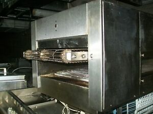 Pass Thru Pizza Etc Oven Holman Convoyor Type 220v 1ph 900 Items On E Bay